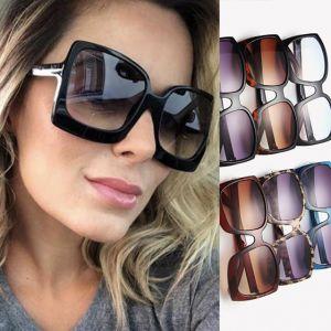 Ladies square sunglasses large frame oversized shades