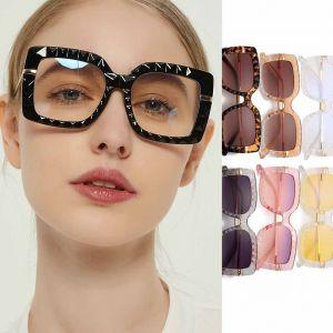 Luxury Gradient Lens Women Oversized Square Sunglasses