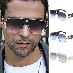 Oversize Women Pilot Sunglasses Men Cool Aviators