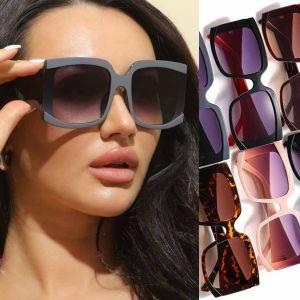 Oversized Square Sunglasses Cute Big Frame