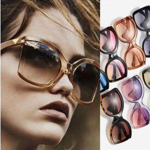 Butterfly Oversized Sunglasses Women Fashion Big Shades
