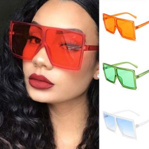 Chic Eyeglasses Large Flat Top Rectangular Sunglasses