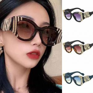 Ladies colorful frame cute oversize cat eye sunglasses