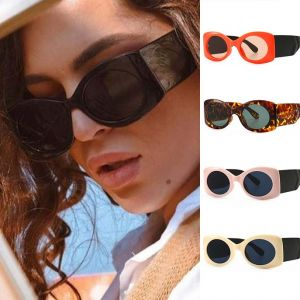 Fashion Oval Sunglasses Women Vintage Modern Shades