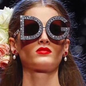 Festival hippie round sunglasses w/ crystals around rim