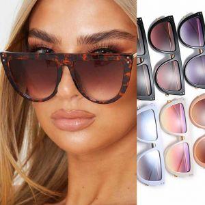 rimless mirrored sunglasses